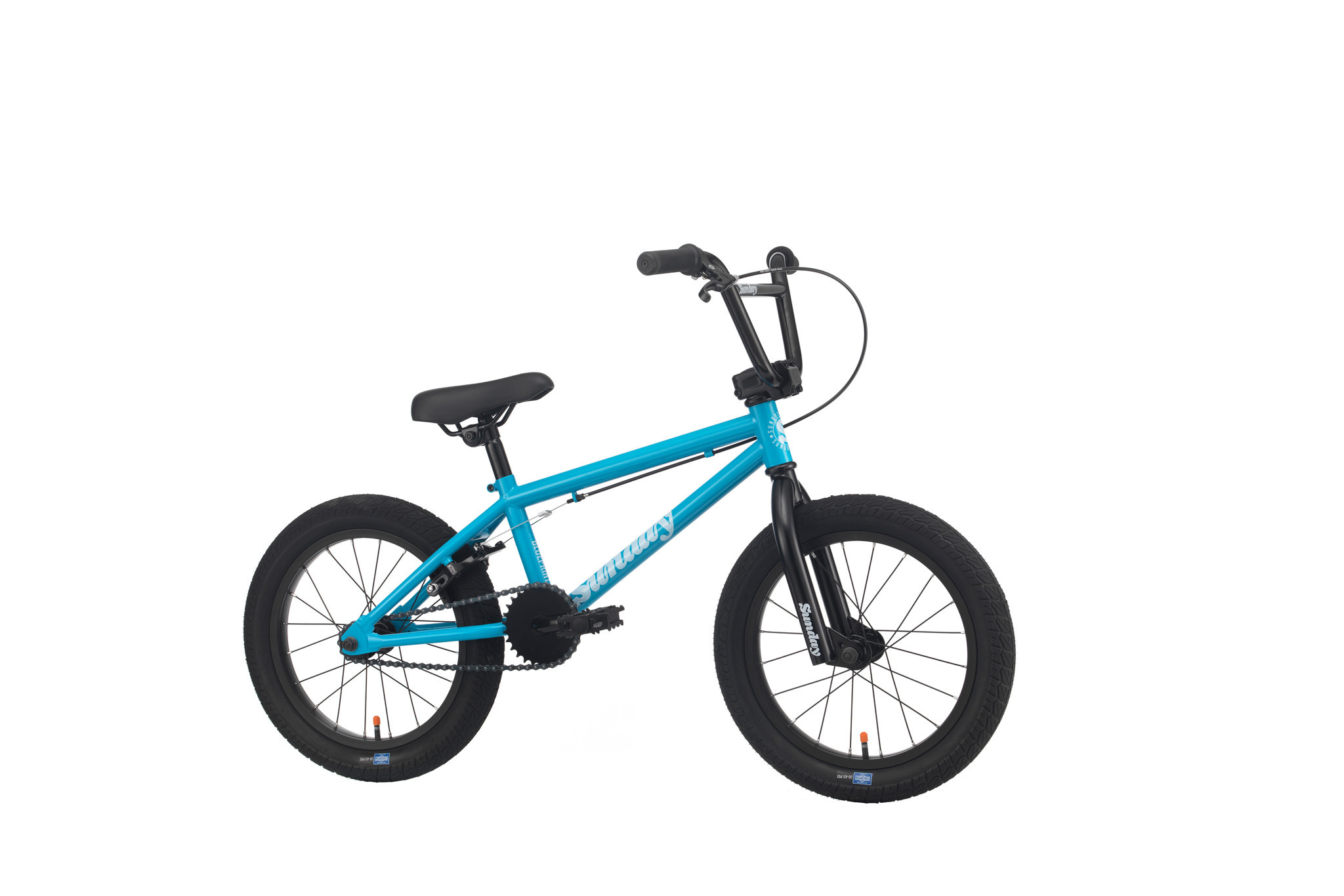 "Sunday 2020 Sunday Blueprint 16"" Gloss Surf Blue Bike"