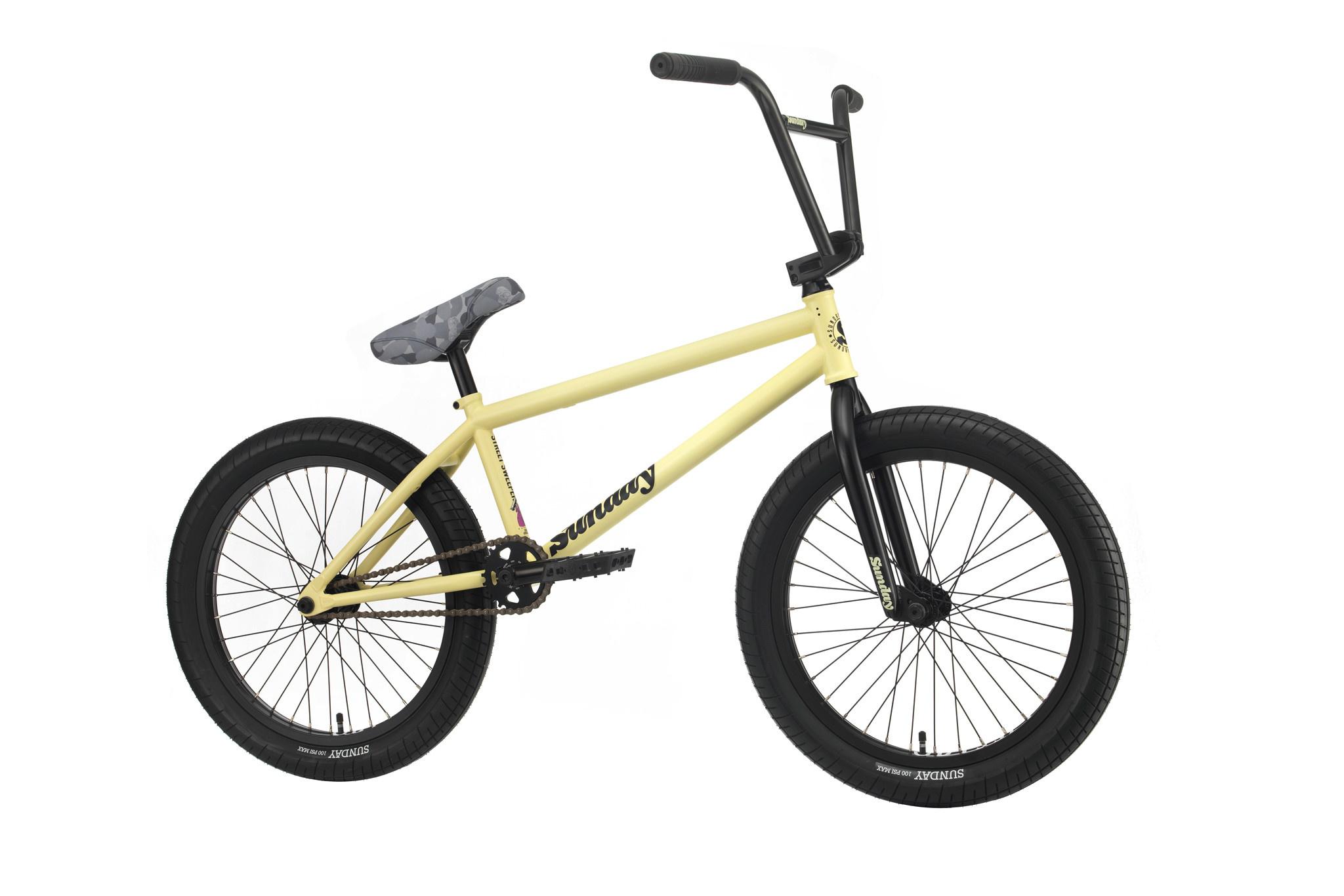 "Sunday 2020 Sunday Street Sweeper 20.75"" Matte Notepad Yellow RHD Bike"