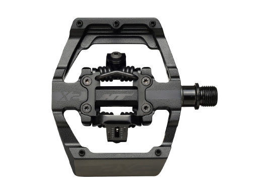 HT Components HT X2-XS BMX-SX Stealth Black Pedals