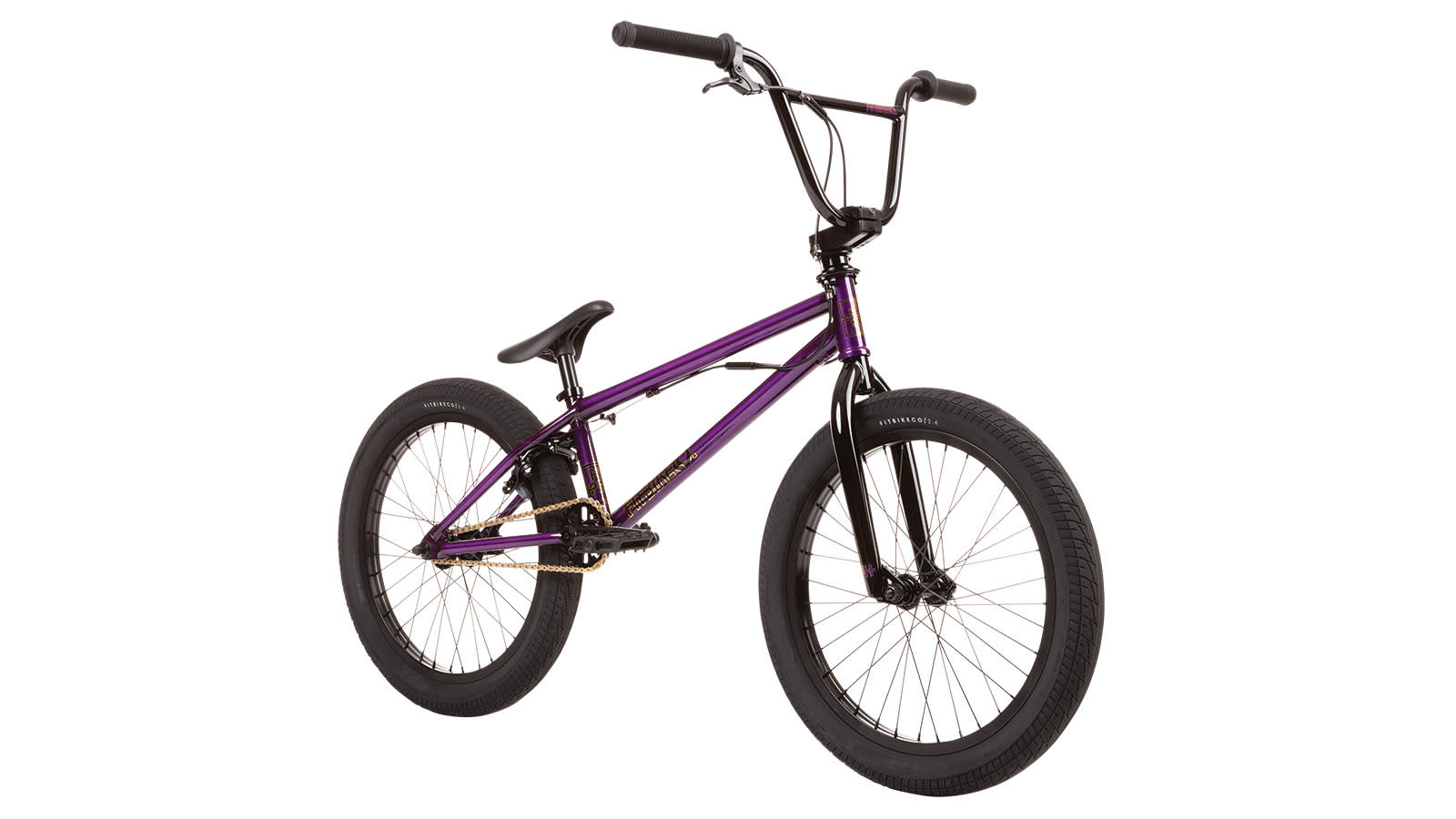 "Fit 2020 Fit Park 20.25"" Trans Purple Bike"