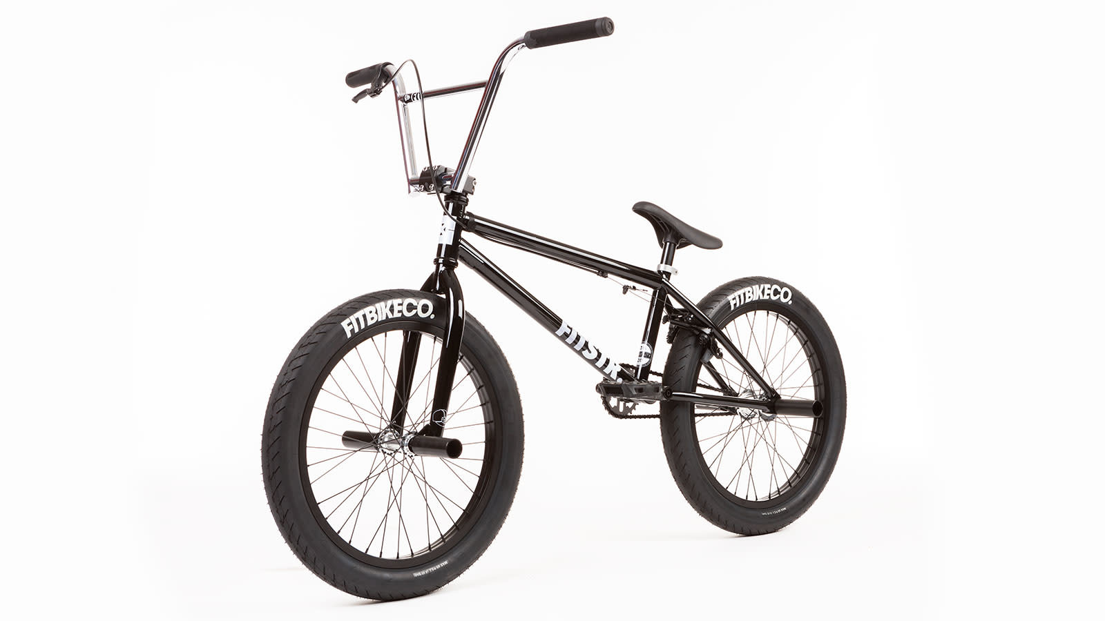 "Fit 2020 Fit Street 20.5"" Gloss Black Bike"