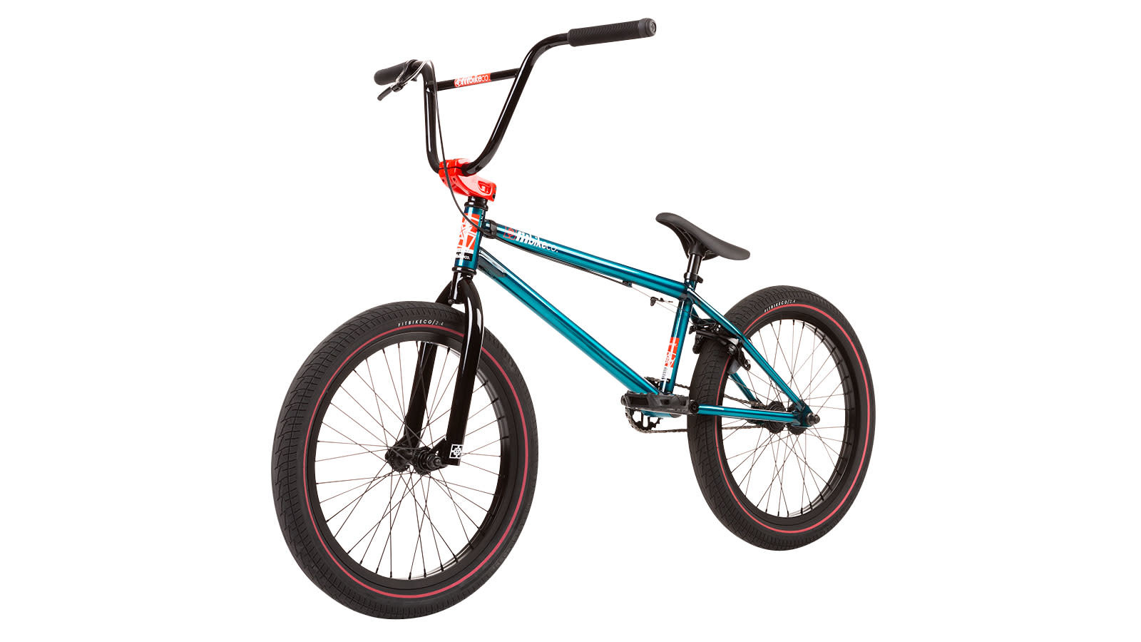 "Fit 2020 Fit Series One 20.5"" Trans Teal Bike"