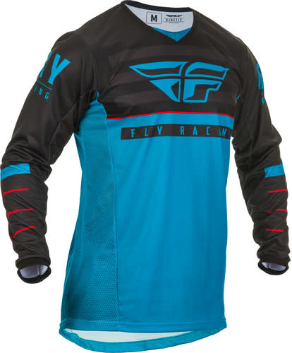 Fly Racing 2020 Fly Racing Kinetic K120 Adult Blue/Black/Red Jersey
