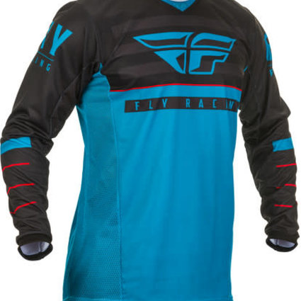 Fly Racing 2020 Fly Racing Kinetic K120 Youth Blue/Black/Red Jersey