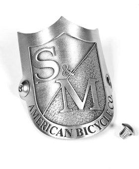 S&M Shield Head Tube Badge