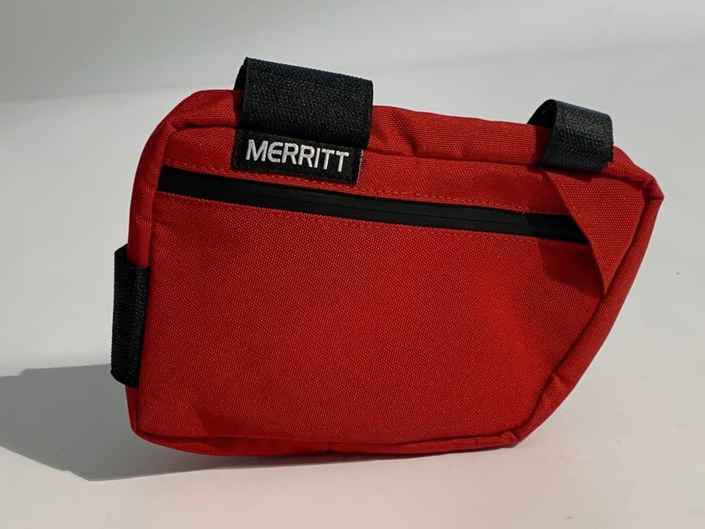 Merritt Merritt Corner Pocket MKII Red Frame Bag