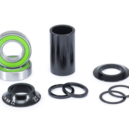 We The People We The People Compact Mid Bottom Bracket For 22mm Spindle Black