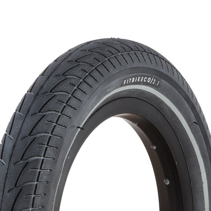 Fit 12x2.1 Fit Black w/Nightvision Stripe Tire