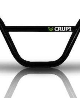 "Crupi Crupi Moto Alum 6.5"" Black Bars"