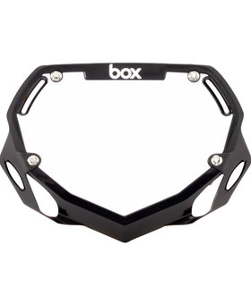 Box Components Box Two Pro Black Number Plate