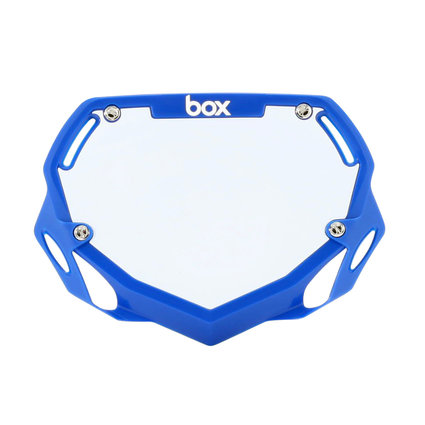 Box Components Box Two Pro Blue Number Plate