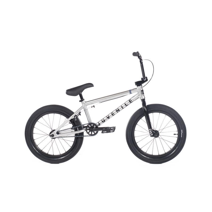 """Cult 2020 Cult Juvenile 18"""" A Silver Bike"""