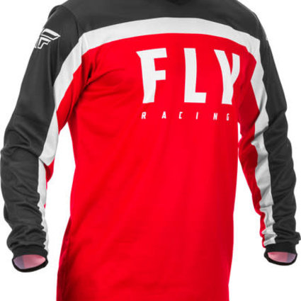Fly Racing 2020 Fly Racing F-16 Adult Red/Black/White Jersey