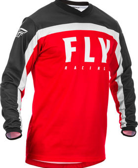 Fly Racing 2020 Fly Racing F-16 Youth Red/Black/White Jersey