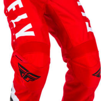 Fly Racing 2020 Fly Racing F-16 Adult Red/Black/White Pants