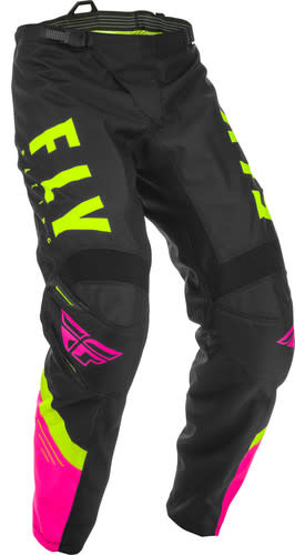 Fly Racing 2020 Fly Racing F-16 Youth Pink/Black/Hi-Vis Pants