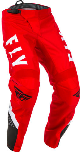 Fly Racing 2020 Fly Racing F-16 Youth Red/Black/White Pants