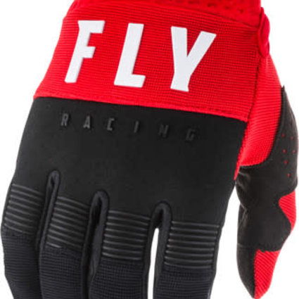 Fly Racing 2020 Fly Racing F-16 Adult Red/Black/White Gloves