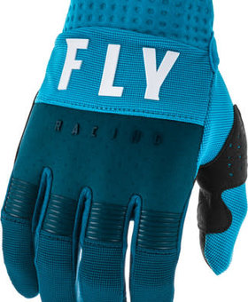 Fly Racing 2020 Fly Racing F-16 Youth Navy/Blue/White Gloves
