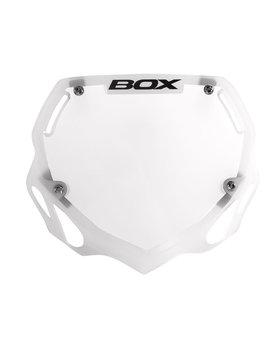 Box Components Box Two Mini Tran White Number Plate