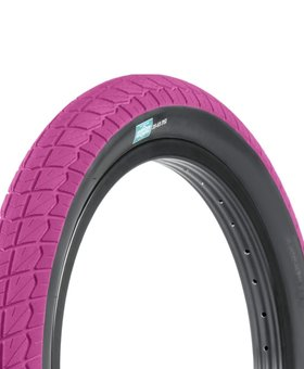 "Sunday 18x2.20"" Sunday Current Pink w/Blackwall Tire"