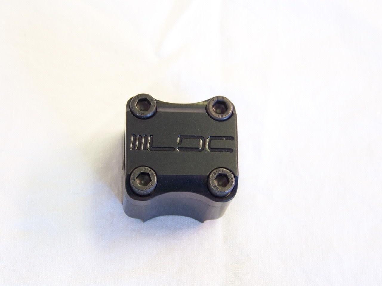 "LDC 1"" 0mm Black Stem"