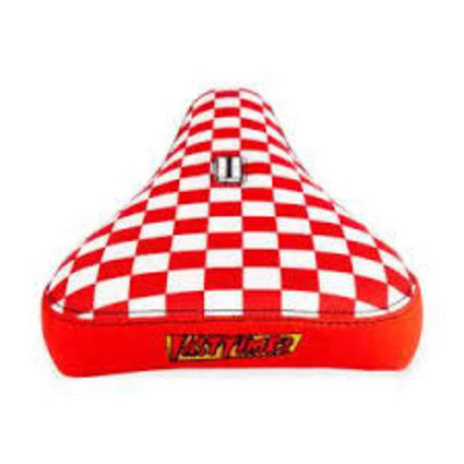Stolen Stolen Fast Times XL Red/White Checkboard Seat