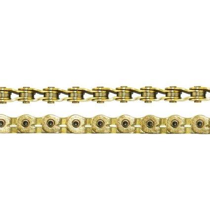 "Crupi Crupi Half-Link Hollow 3/32"" Gold Chain"