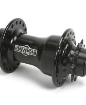 Sunday Sunday Storm 9T 36H Black Rear Hub