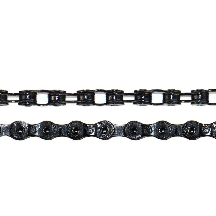 "Crupi Crupi Full-Link Pro 3/32"" Hollow Black Chain"