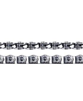 "Crupi Crupi Half-Link Solid 3/32"" Chain Silver"