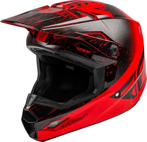 Fly Racing 2020 Fly Racing Kinetic K120 Adult Red/Black Helmet