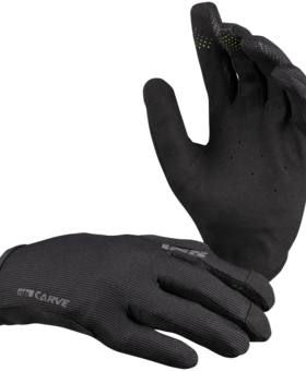 iXS IXS Carve Adult Black Gloves