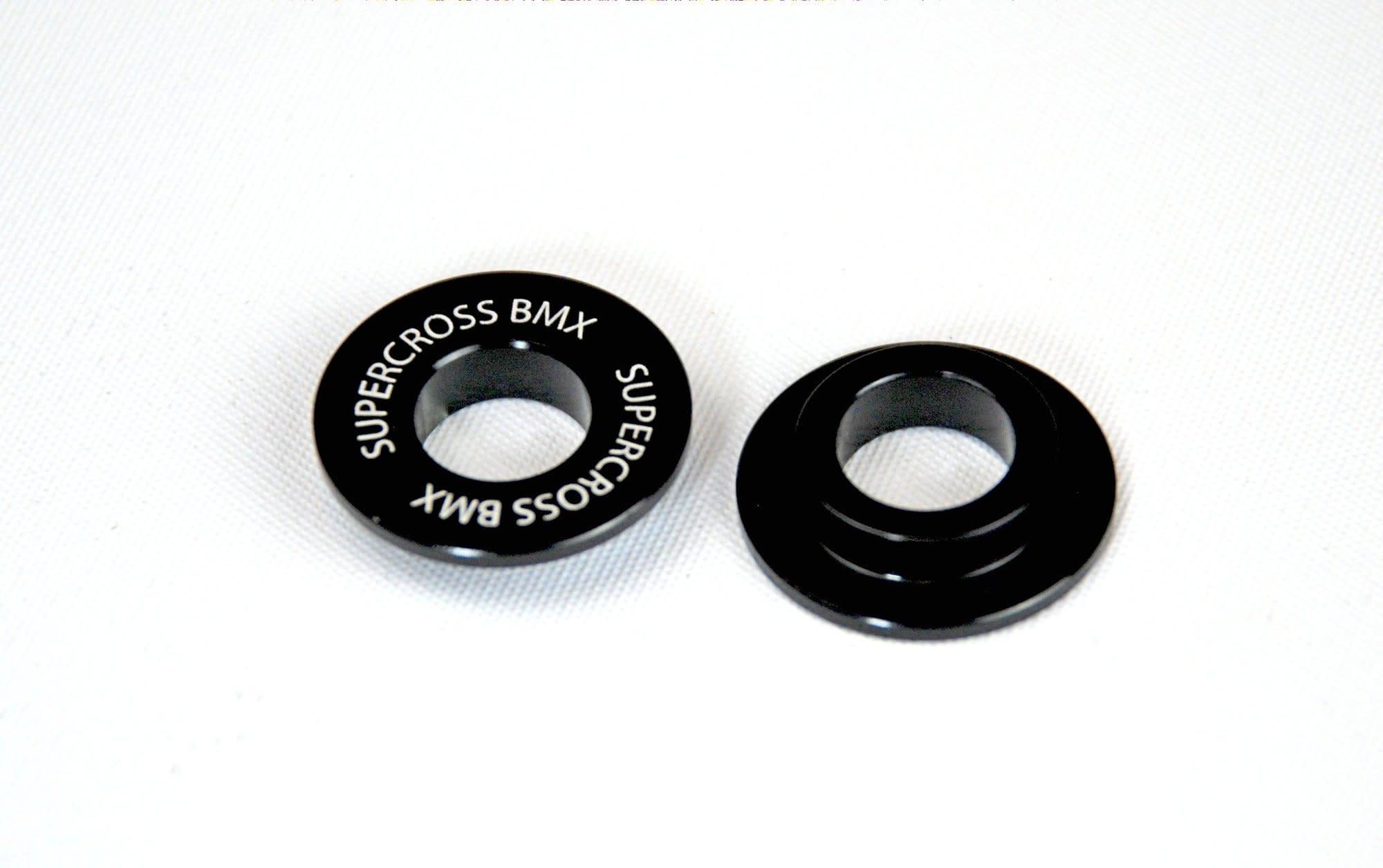 Supercross Supercross 15mm to 10mm Black Frame Adapters