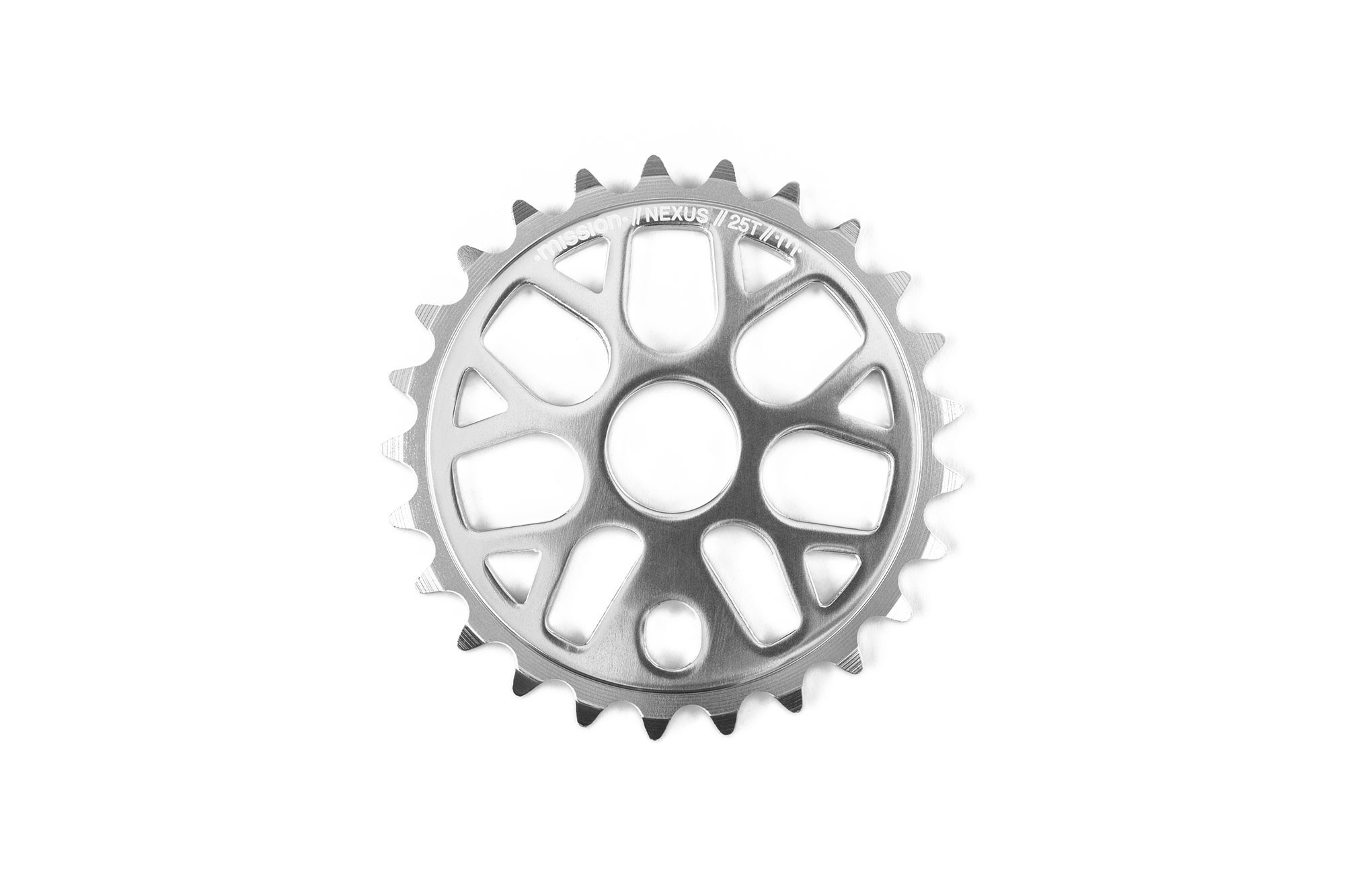 Mission Mission Nexus 25T Silver Sprocket