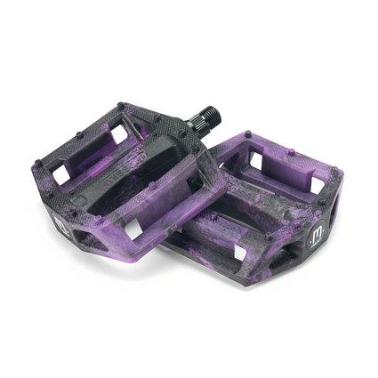 Mission Mission Impulse Plastic Pedals Black/Purple