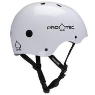 Pro-Tec Pro-tec Classic (Certified) Gloss White Helmet