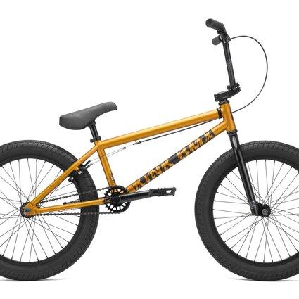 "Kink 2021 Kink Curb 20"" Matte Orange Flake Bike"
