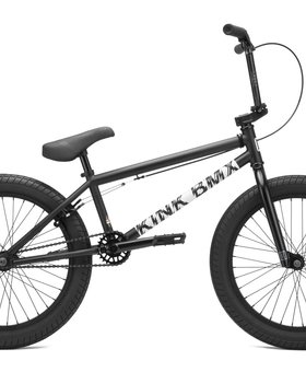 "Kink 2021 Kink Curb 20"" Matte Dusk Black Bike"