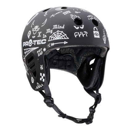 Pro-Tec Pro-tec Fullcut (Certified) Cult Black Medium Helmet