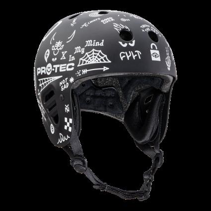 Pro-Tec Pro-tec Fullcut (Certified) Cult Black Large Helmet