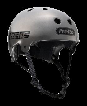 Pro-Tec Pro-tec Old School (Certified) Matte Metallic Gun Metal Large Helmet