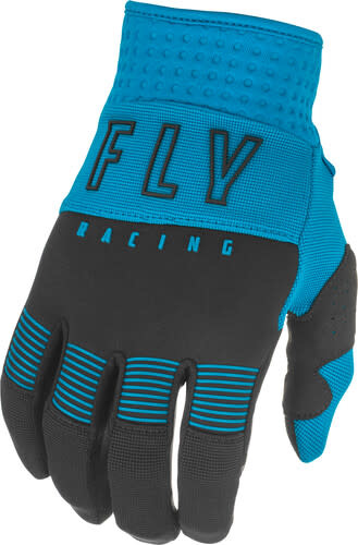 Fly Racing 2021 Fly Racing F-16 Adult Blue/Black Gloves