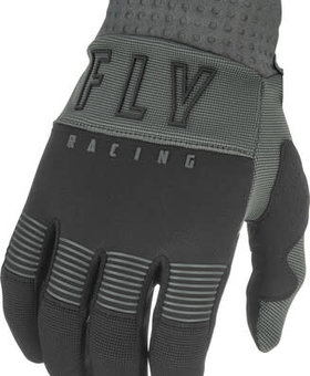 Fly Racing 2021 Fly Racing F-16 Adult Grey/Black Gloves