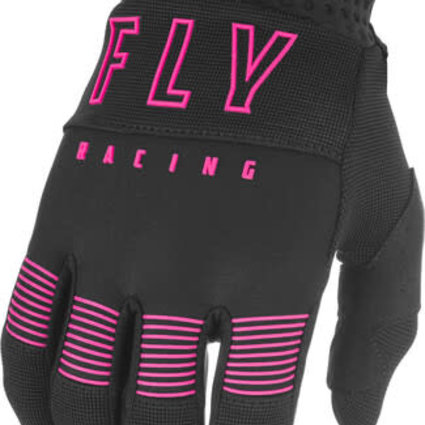Fly Racing 2021 Fly Racing F-16 Youth Black/Pink Gloves