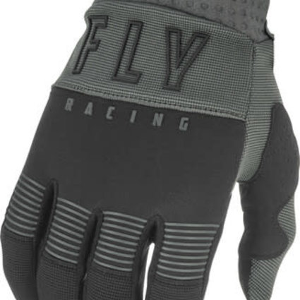 Fly Racing 2021 Fly Racing F-16 Youth Grey/Black Gloves
