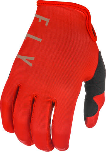 Fly Racing 2021 Fly Racing Lite Adult Red/Khaki Gloves