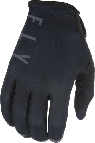 Fly Racing 2021 Fly Racing Lite Youth Black/Grey Gloves