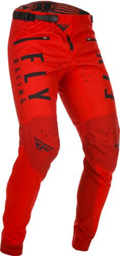Fly Racing 2021 Fly Racing Kinetic Adult Red Pants