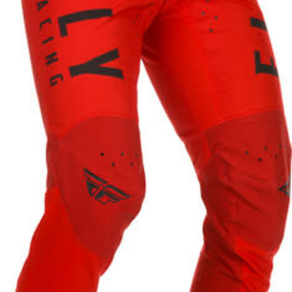 Fly Racing 2021 Fly Racing Kinetic Youth Red Pants